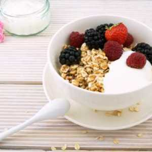 bowl of oats with fresh fruit on top