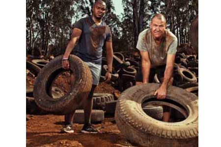 lose weight, weight loss, Belly Off Club, david de villiers, Tankiso Motsohi, Joe Geldenhuys