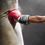 boxing, workout, build muscle, heavy bag, church street boxing gym, lennox lewis, stance