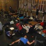 build muscle, body shop, Roark Gym, CrossFit, flexion, get fit
