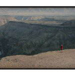 Ryan Sandes, The Fish River Canyon, 5 day hike, 84km, Fish River Canyon Hiking Trail, fish river canyon, ultra-running