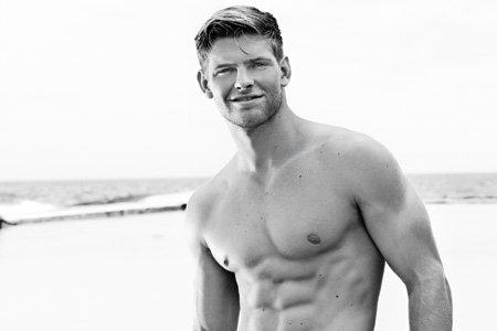 doctor, men's health, Cover guy, Mias van der Westhuyzen, maties, student, hot guy, shirtless hunk, male model