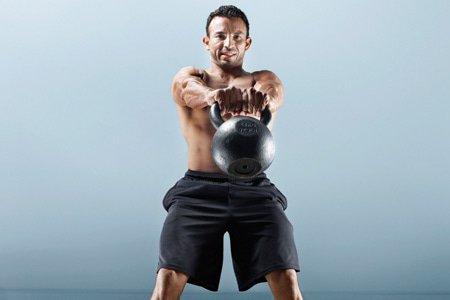 muscle, build muscle, get huge, big arms, The Ultimate Kettlebell Workout, kettlebell, big pecs, big guns, kettlebell workouts