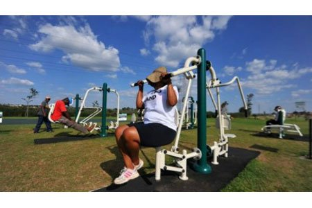 Fitness Parks, Accessible Outdoor Gyms, outdoor workouts