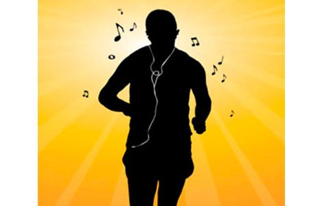 cardio, exercise, headphones, music, Walking, Medical News Today