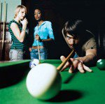 pool, snooker, relationship, threesome