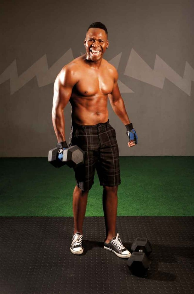 Lloyd Cele, belly off, weight loss, build muscle, how to build muscle, muscle