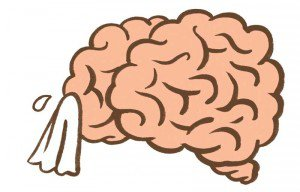 sad brain, bad mood, brain