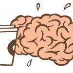 stressed brain, bad mood