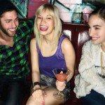 wingwoman, women, party, bar, laugh