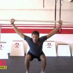 overhead squat, how to overhead squat, workout, workout video