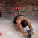 power ab wheel, workout, workout video, build muscle