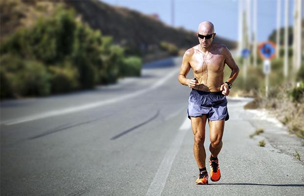 man on the road running running gets boring