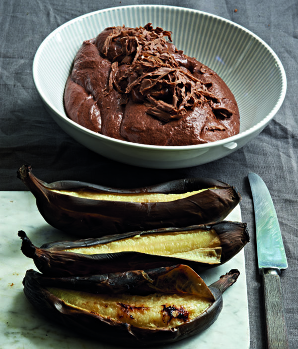 Recipe: Oak-Smoked Chocolate Mousse With Braaied Bananas, braaied bananas, chocolate mousse, recipe, dessert, food, Reuben Riffel, Reuben's, top chef, chef, braai