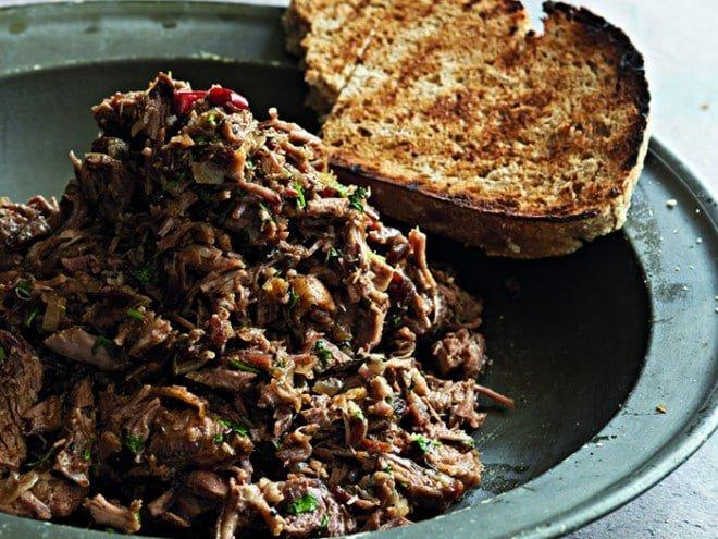 Recipe: Pulled Lamb Shoulder With Fragrant Apricot Dressing, recipe, lamb, food, Reuben Riffel, Reuben's, braai, braai ideas