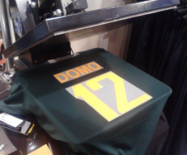 Pressing jersey