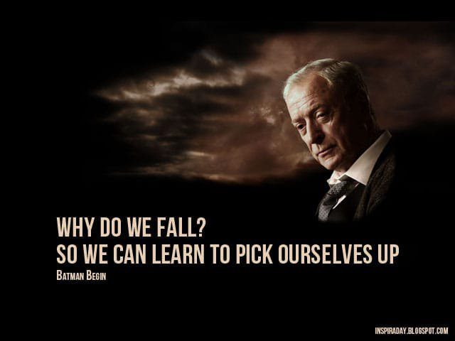 Why do we fall - Alfred