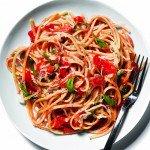 Tomato And Basil Linguine Recipe