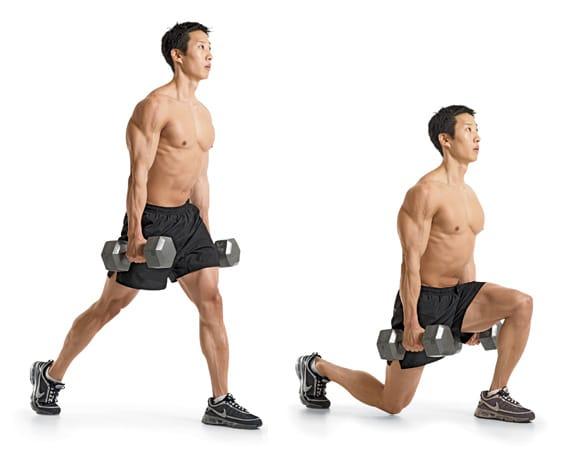 dumbbell-split-squat