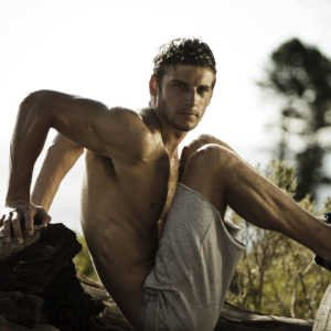 Fit man in the outdoors