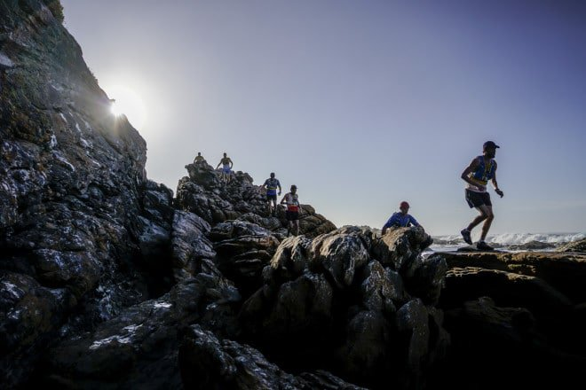 The 42km OTTER African Trail Run, presented by SALOMON and GU, is an annual ultra event in the Garden Route National Park near Knysna,, Western Cape, South Africa, RSA