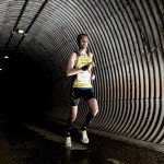 Jarle Risa of Norway seen during the Wings for Life World Run in Valencia, Spain on May 8, 2016.