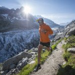 Ryan Sandes runs in Chamonix, France on July 27th, 2016