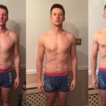 Photos show the weightloss transformation that Carl underwent for dad bod to six pack