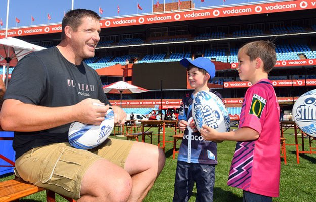 Be Apart of The Vodacom Red #BullsFamily Fun Day