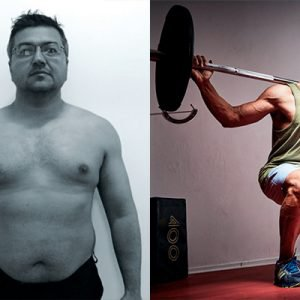 rajeev jumani before and after his weight loss journey