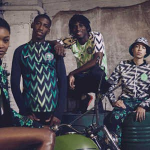 nigeria's kit group of nike models