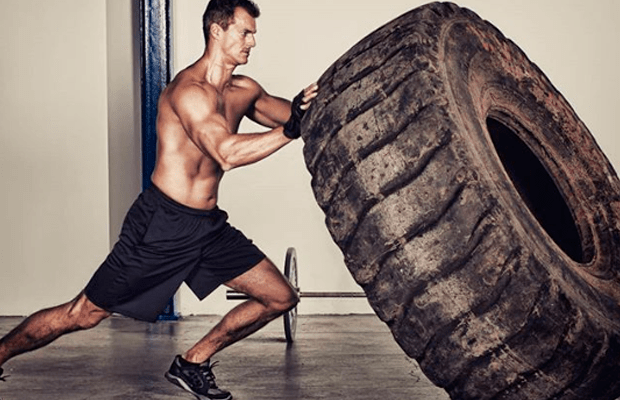 tyre workout