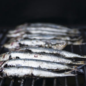 sardines on a braai being cooked reduce erectile dysfunction