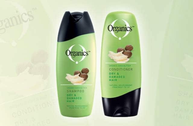organics shampoo and conditioner for dry hair