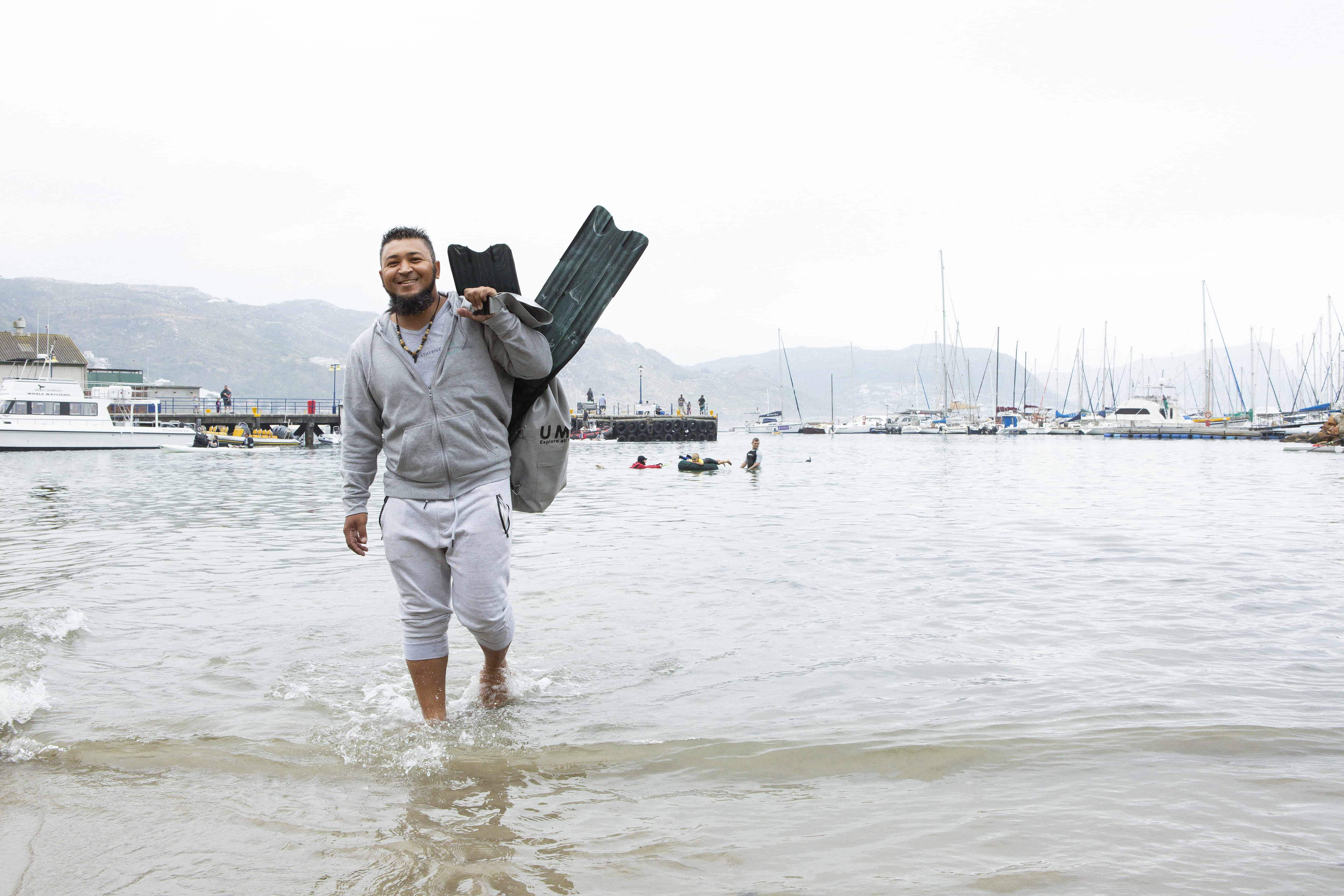 How This Guy Is Taking The Plunge To Save The Oceans