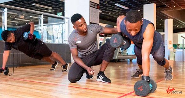 Virgin Active personal trainer
