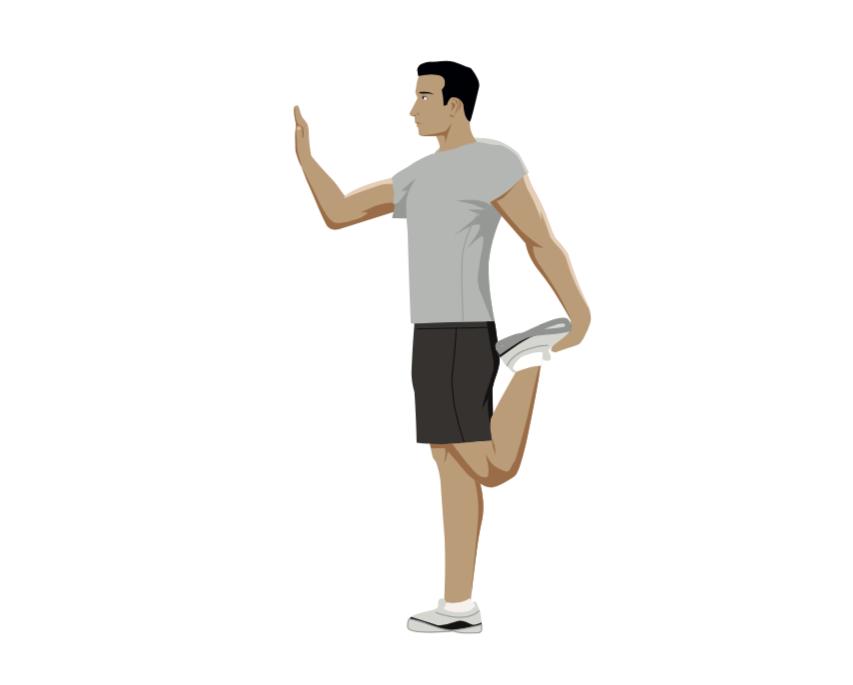 stretch, stretches, stretching