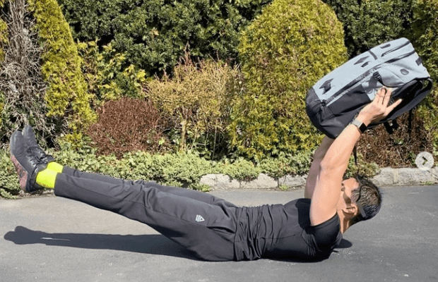 This at-home workout uses houssehold items