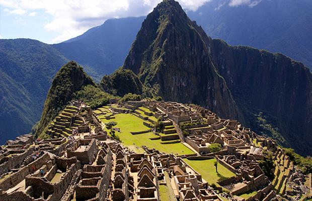 An image of Machu Picchu