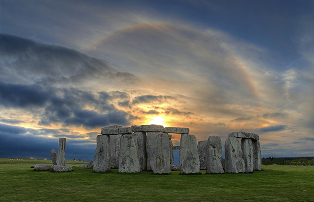 An image of Stonehenge - one of the many virtual tours you can do from your house
