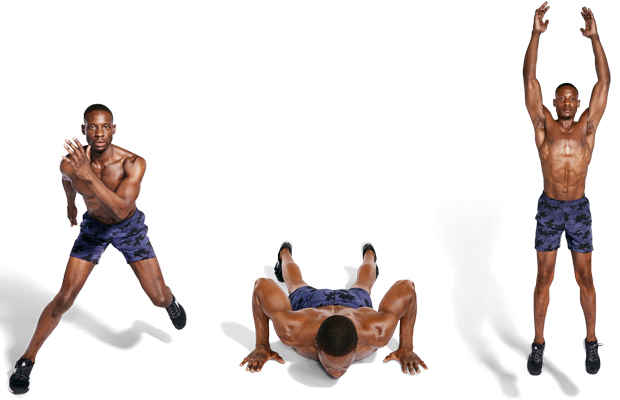Lateral Bound to Burpee