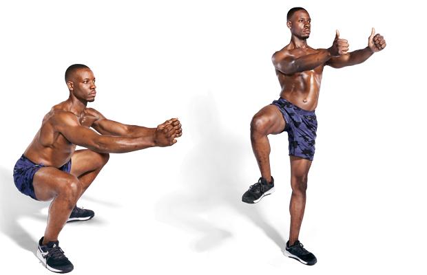 Squat to Hip Opener